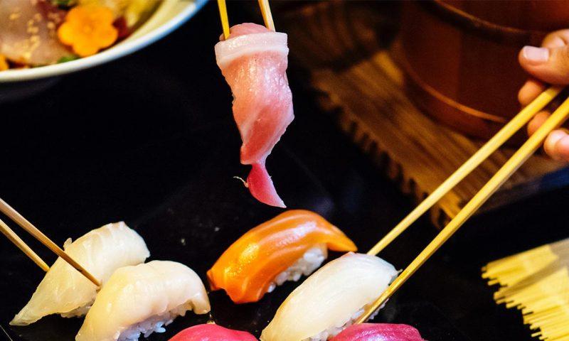 Japanese Food Sushi Hashi Chopsticks