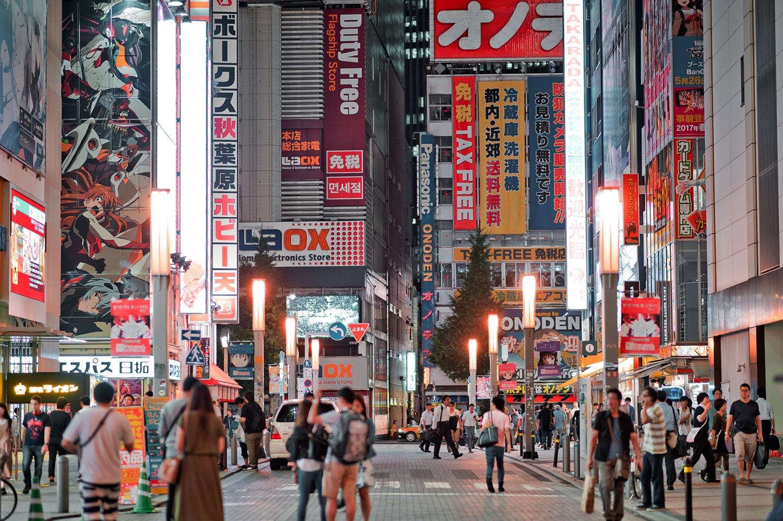 Shopping in Tokyo Akihabara