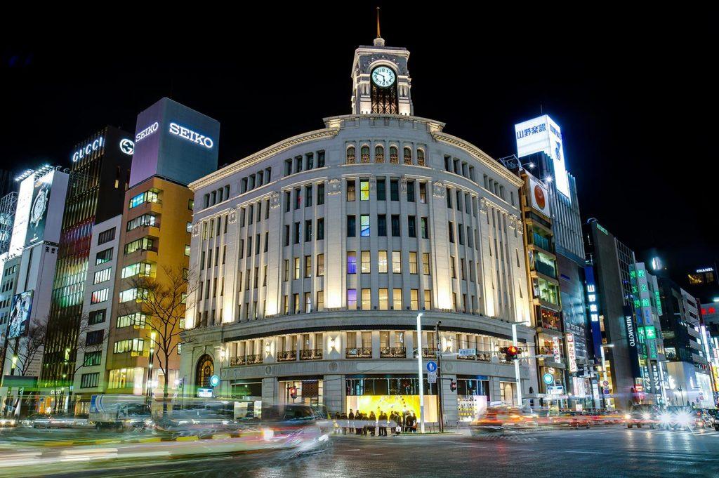 Shopping in Tokyo Ginza