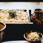 Healthy Japanese Food Soba Noodles