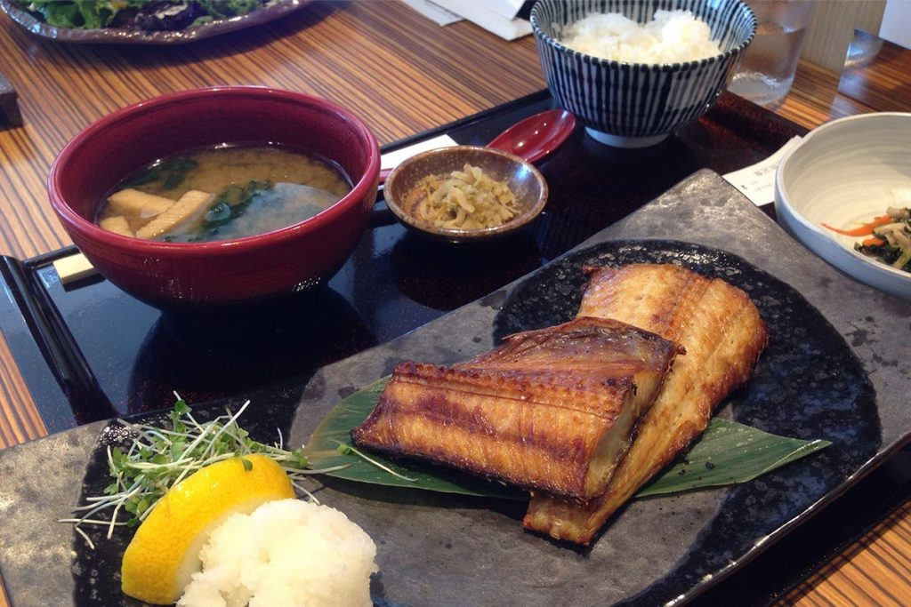 Healthy Japanese Food Teishoku