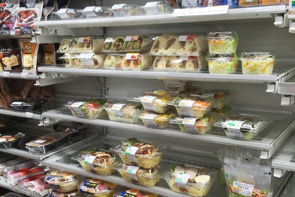 Healthy Japanese Food konbini Convenience Store Salad