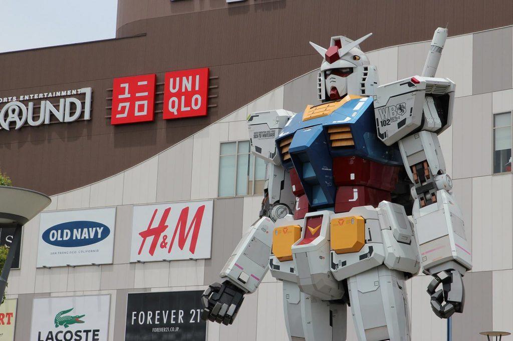 Shopping in Tokyo Odaiba
