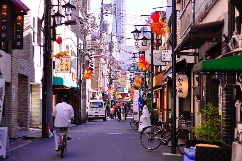 Shopping in Tokyo Asakusa