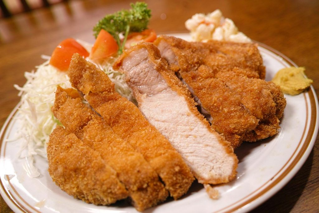 Japanese Food Tonkatsu Pork