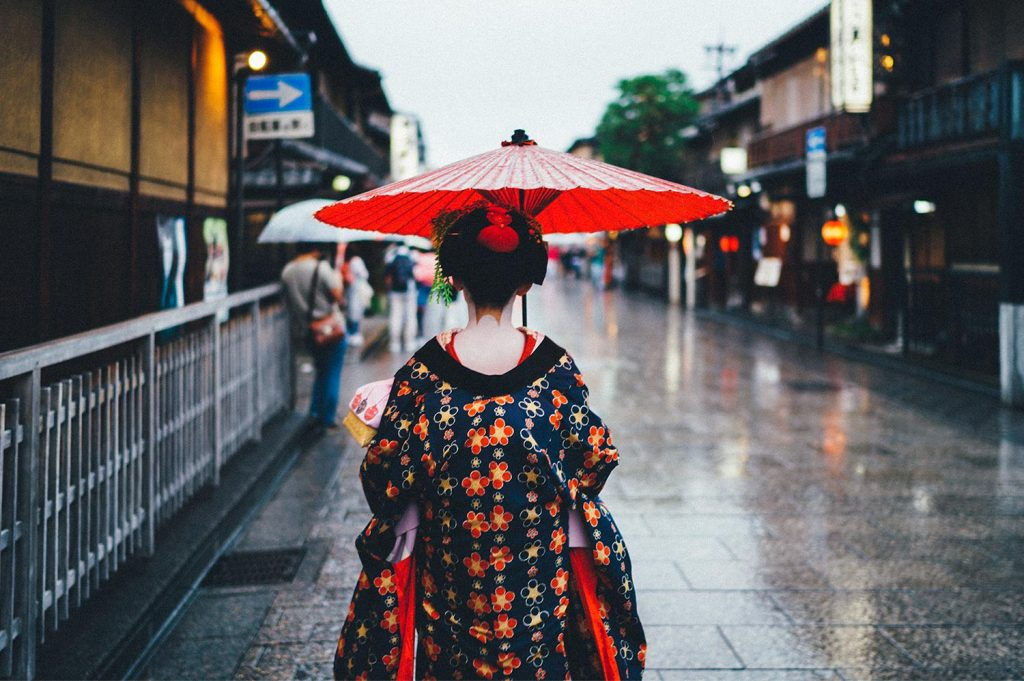 What is a geisha umbrella