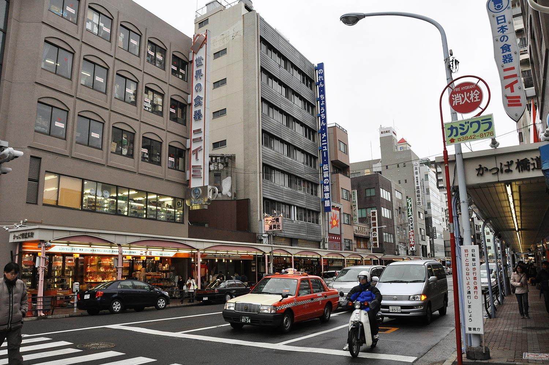 Shopping in Tokyo Kappabashi