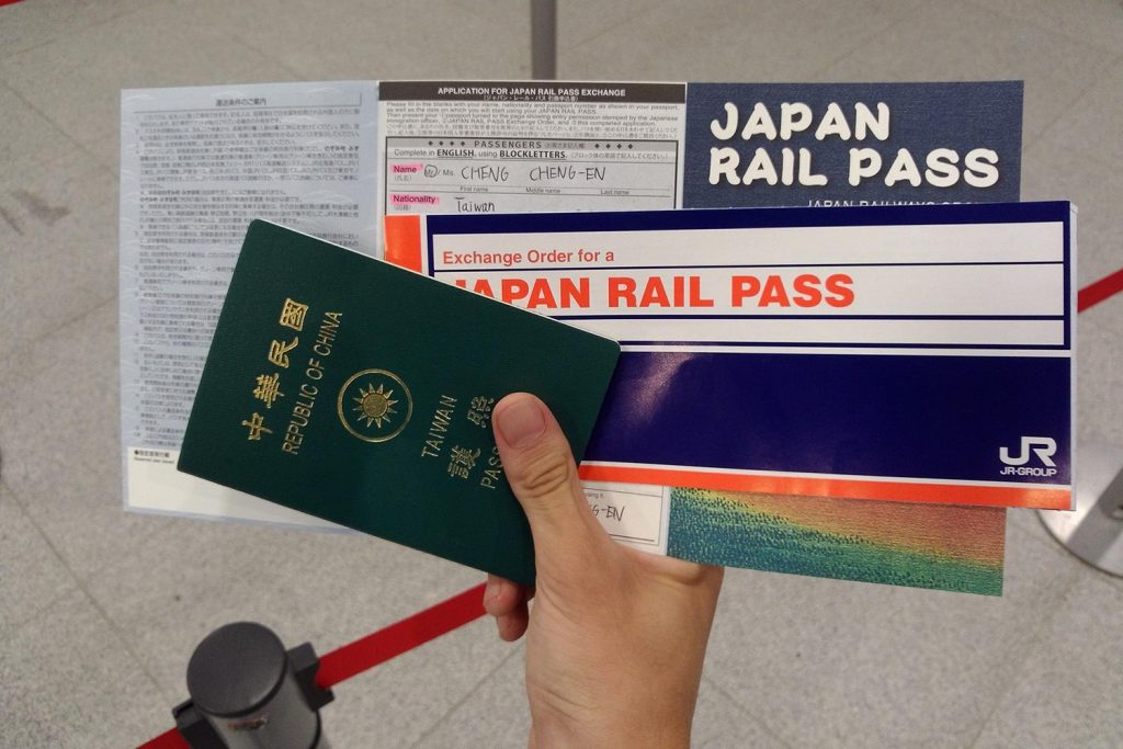 JR Pass Japan Turism Passport