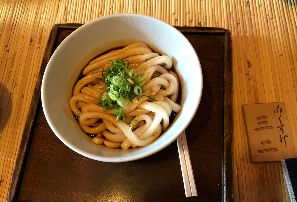 Traditional Japanese Food Udon