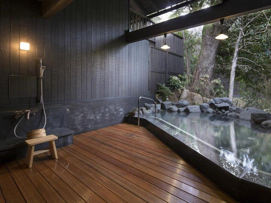 Onsen Etiquette Shower