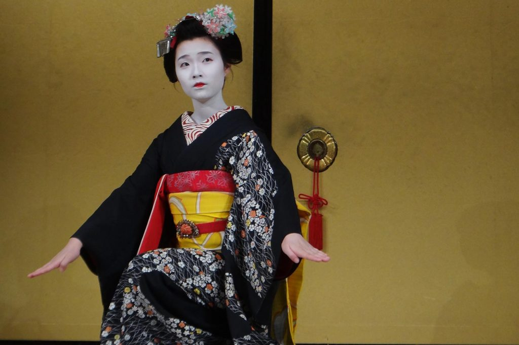 What is a geisha presentation