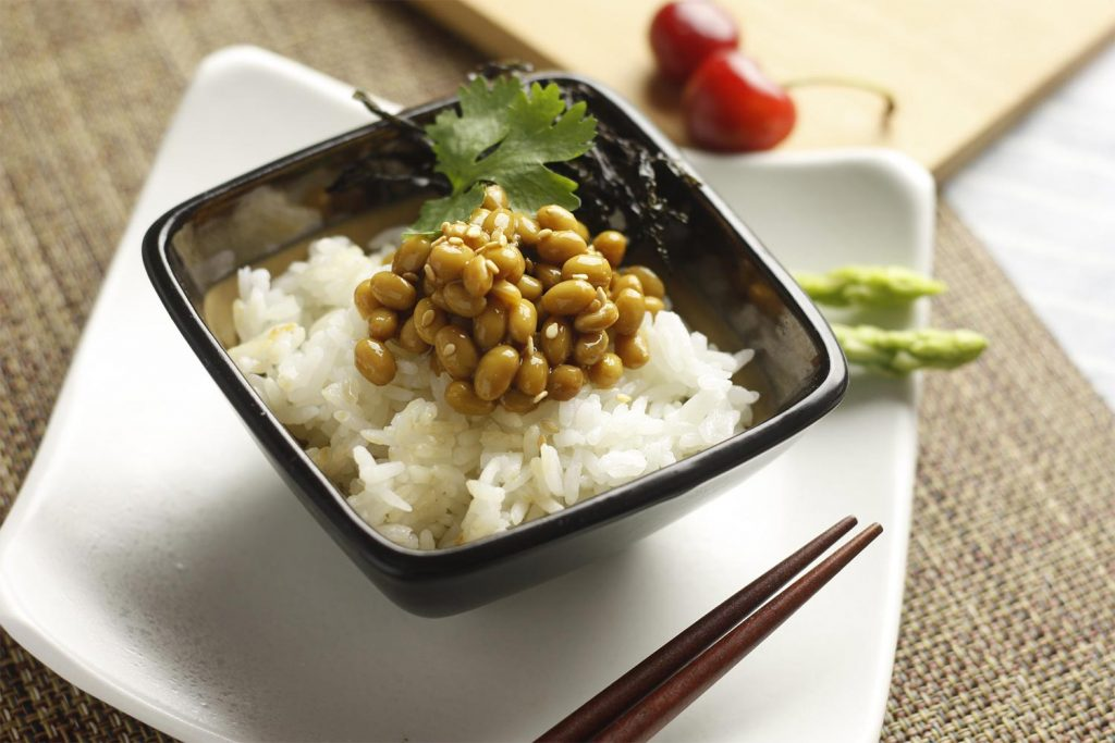 Healthy Japanese Food Natto