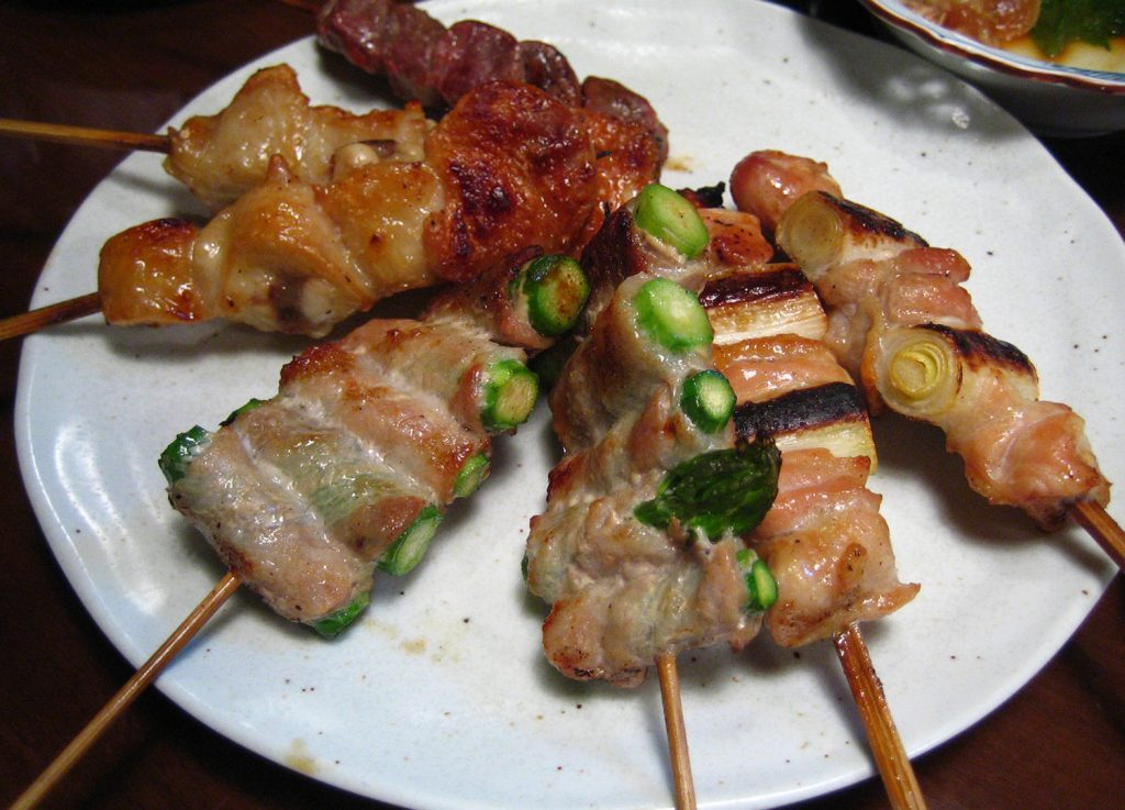 Traditional Japanese Food Yakitori