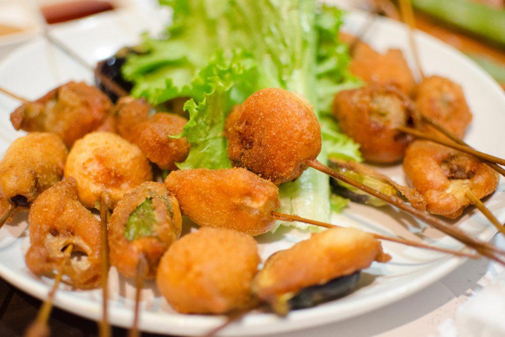 Osaka Food Kushikatsu