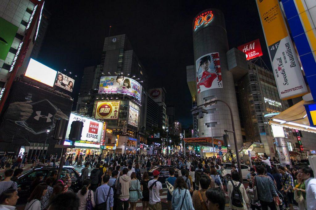 Shopping in Tokyo Shibuya 109