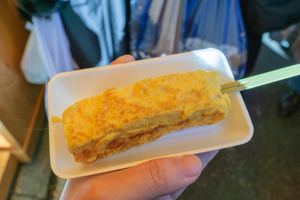Traditional Japanese Food Tamagoyaki