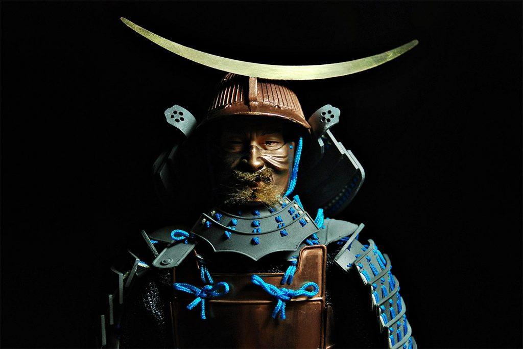 Samurai Moustache Armor