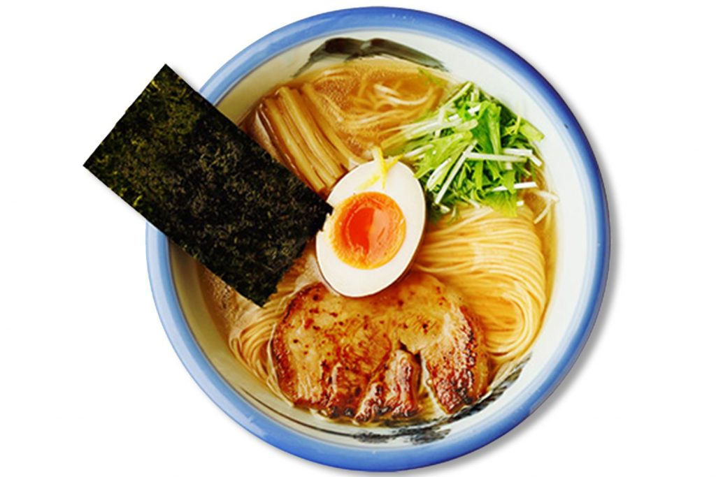 Healthy Japanese Food AFURI Ramen