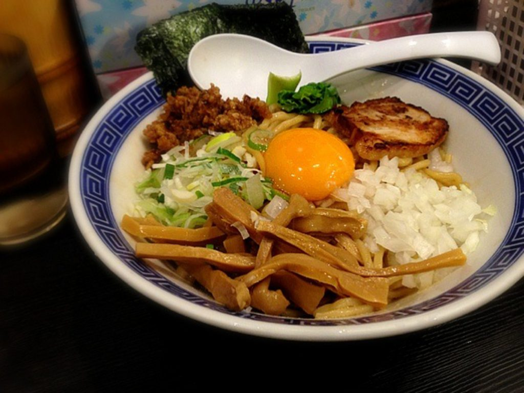 Traditional Japanese Food Abura Soba