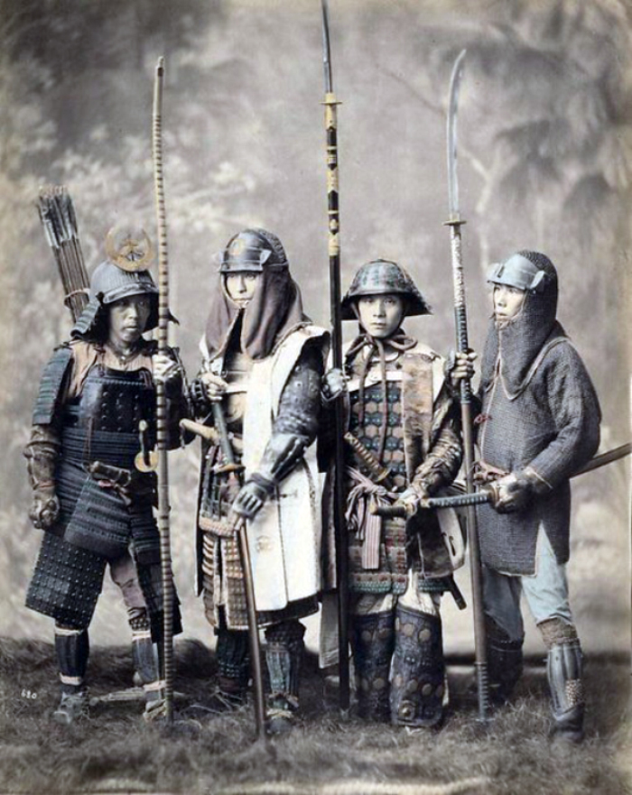 samurai japón