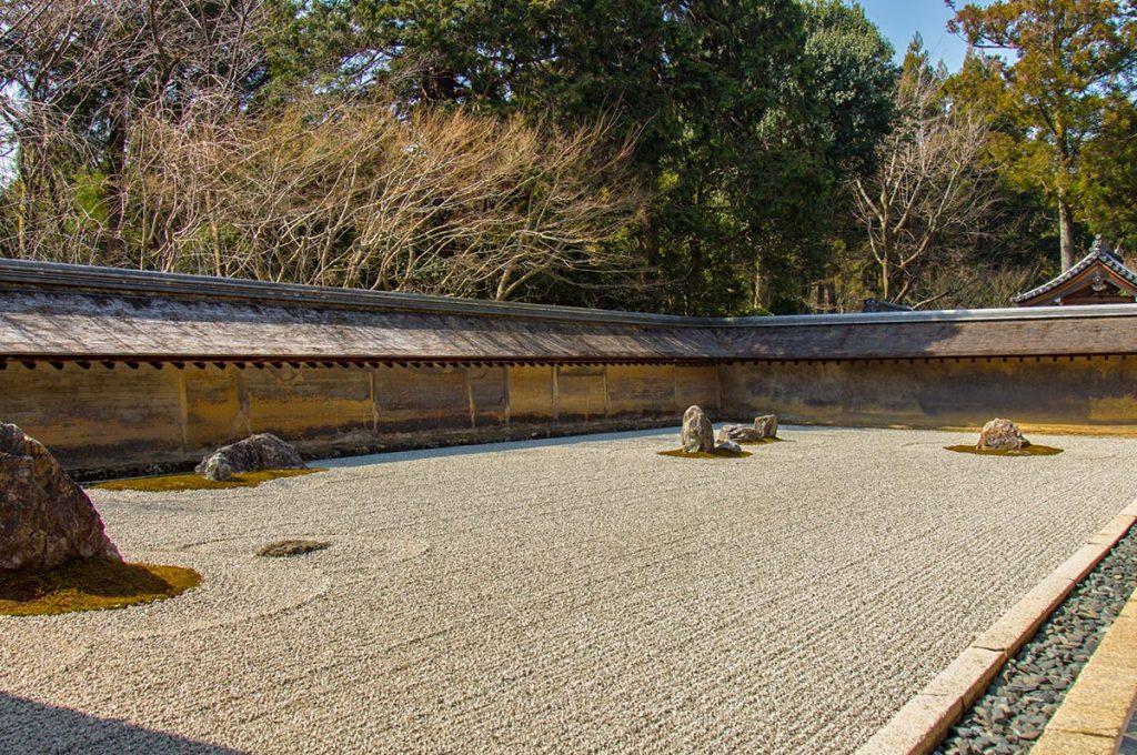 Japanese Garden Ryoanji Temple