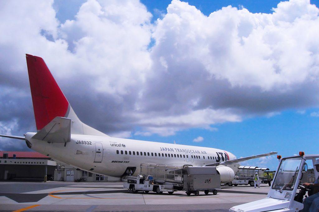 Naha Okinawa airplane