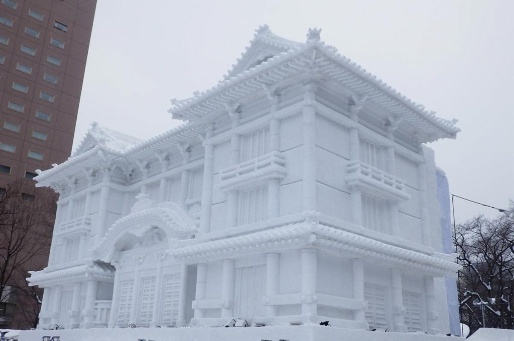 Things to do in Sapporo Snow Festival