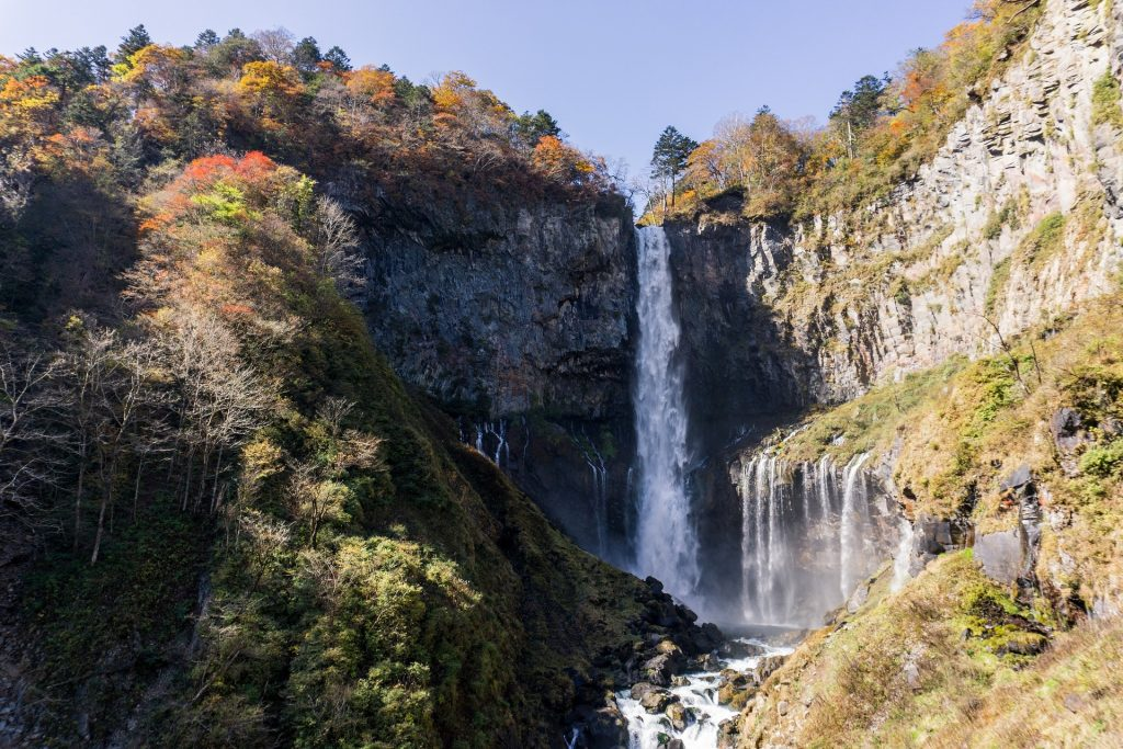 best time to travel to Japan Kegon Falls