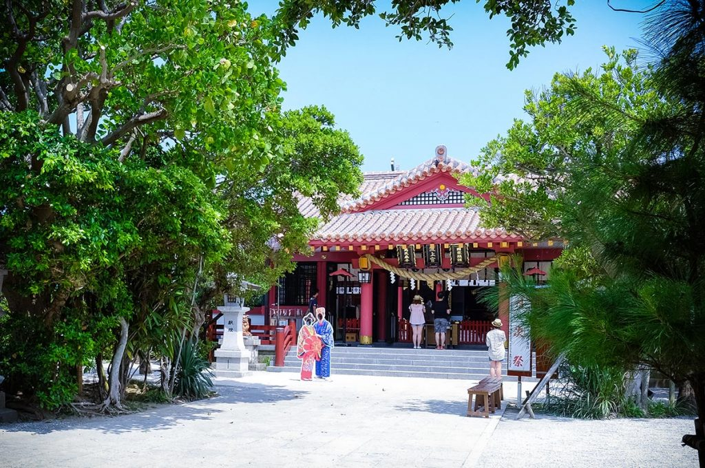 Naha Okinawa Naminoue Shrine