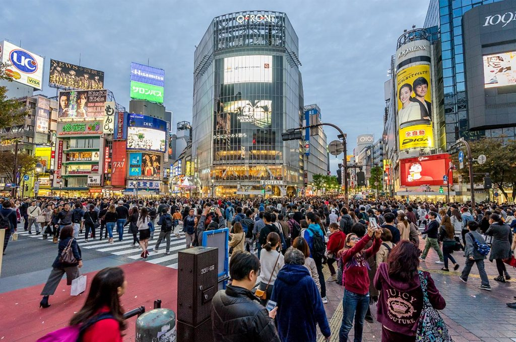 Shibuya Shopping Crossing