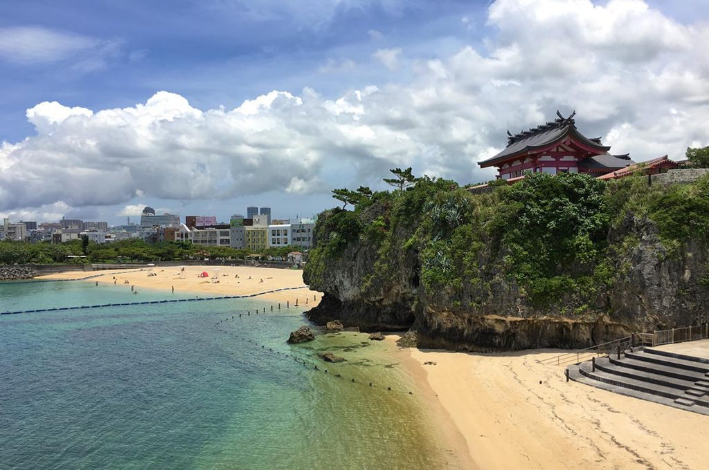 Naha Okinawa Beach Temple