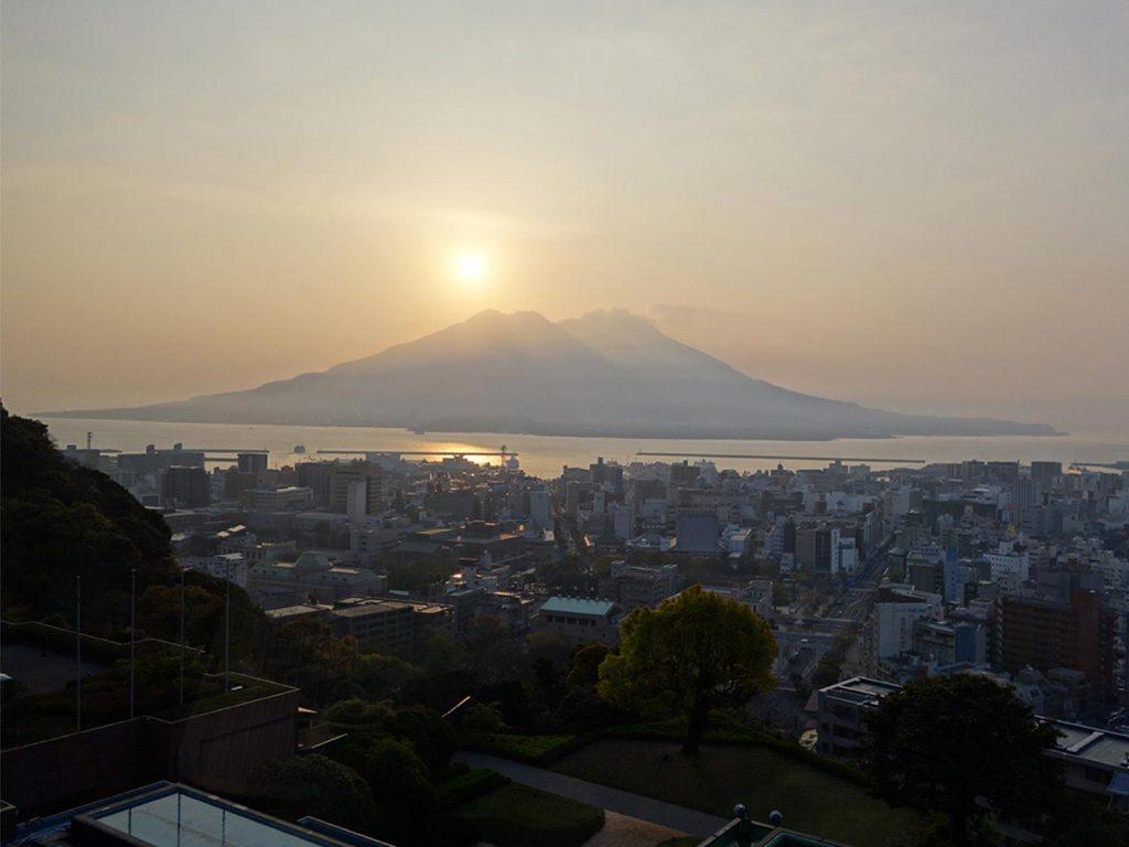 Kagoshima Japan Sunset