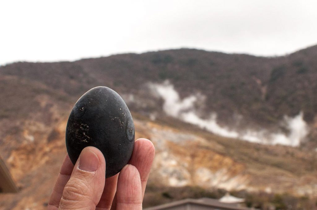 Things to do in Hakone Black Eggs