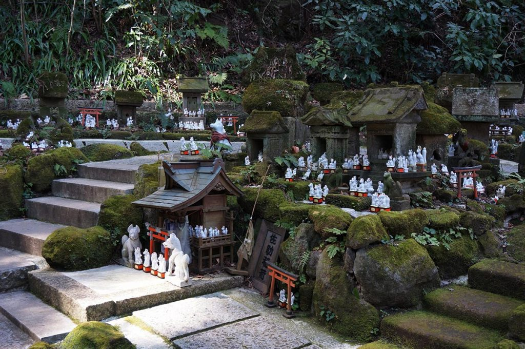 Things to do in Kamakura Sasuke Inari Shrine Foxes