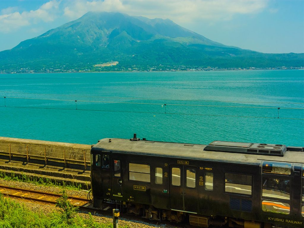 Kagoshima Japan Train