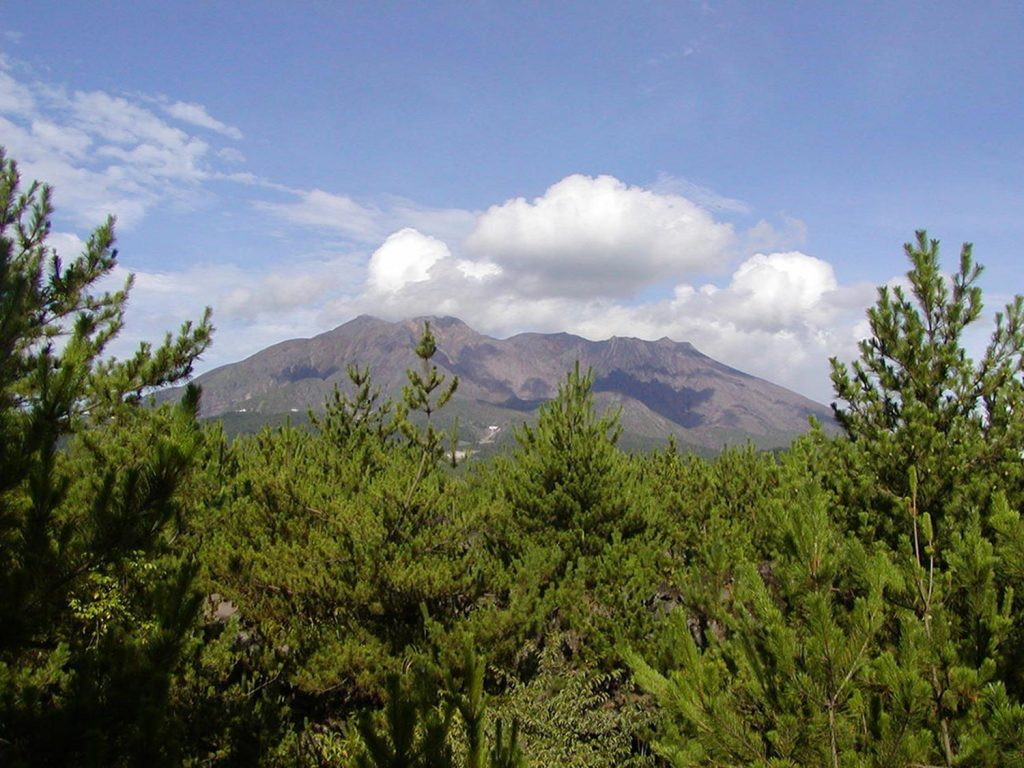Sakurajima Nature