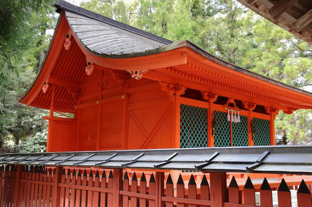 Miyajima Island Omoto Shrine