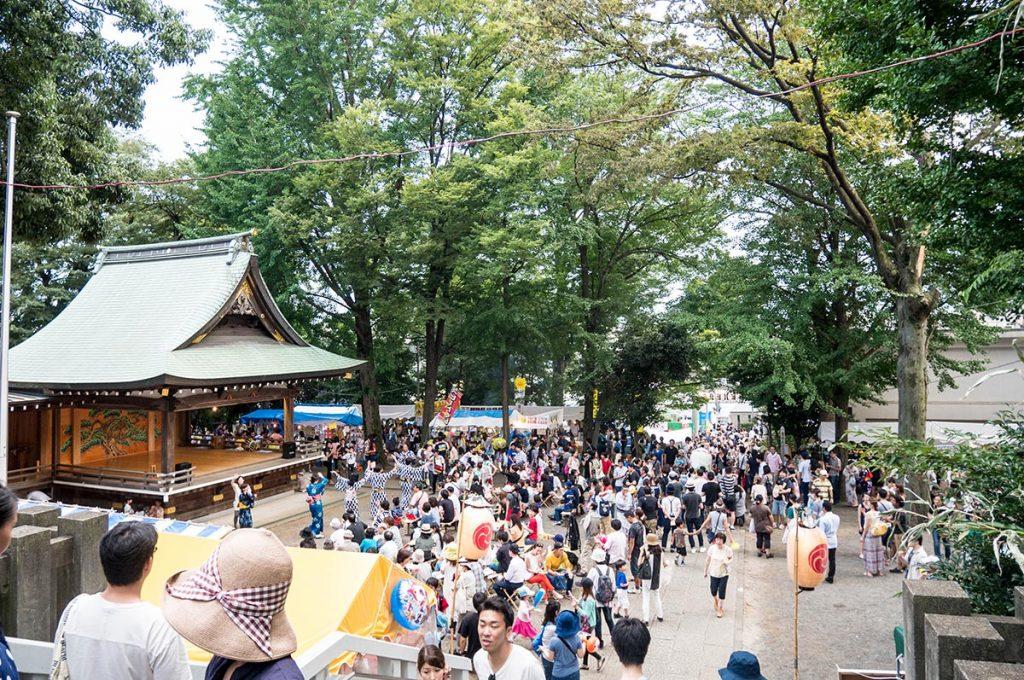 Shimokitazawa Tokyo kitazawa Hachiman Shrine