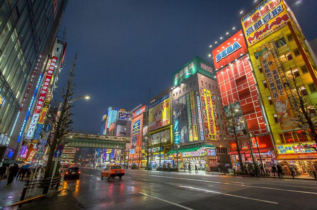 Akihabara Tokyo Night