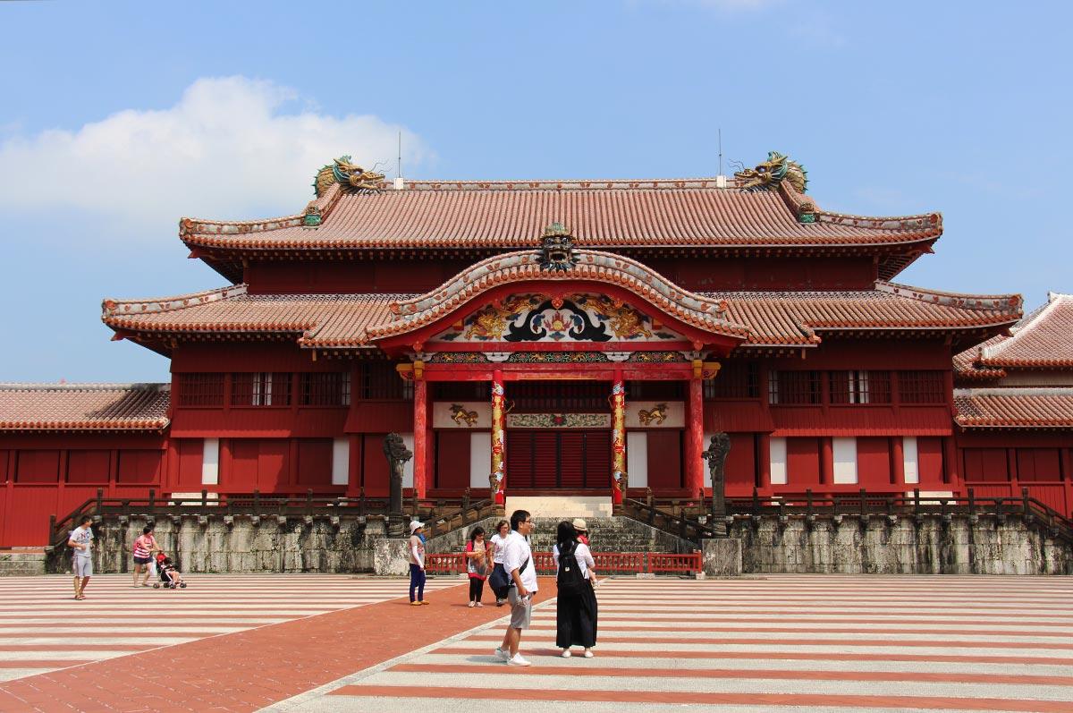 Naha Okinawa Shuri Castle