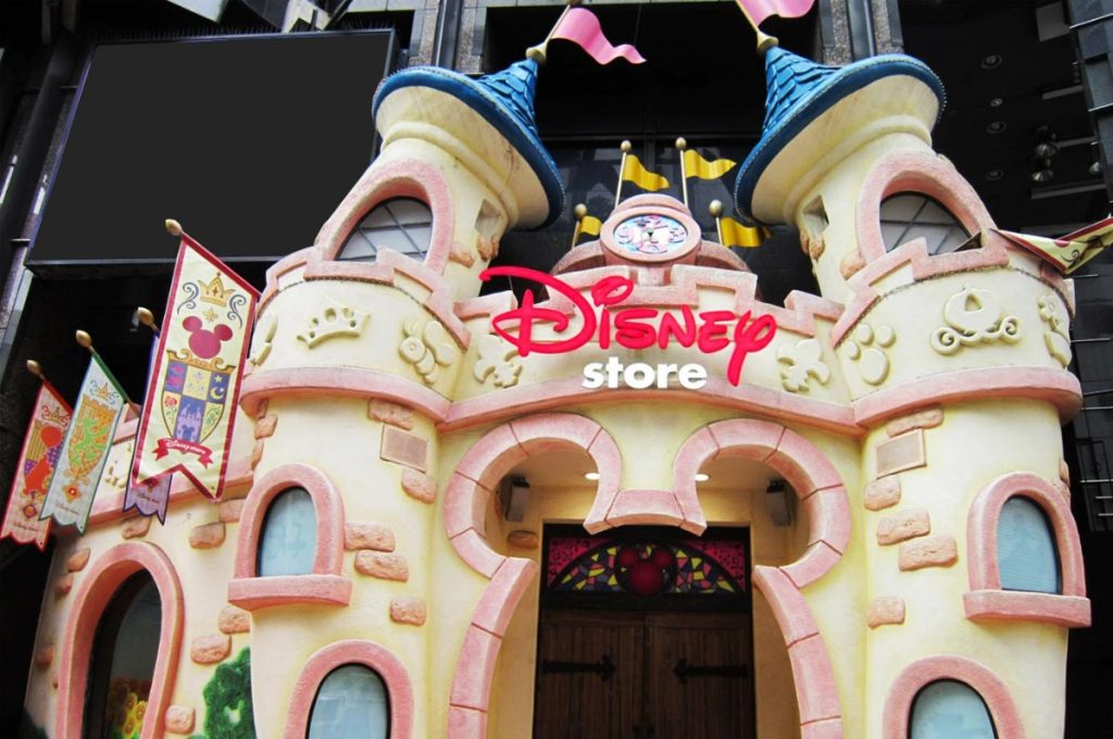 Shibuya Shopping Disney Store