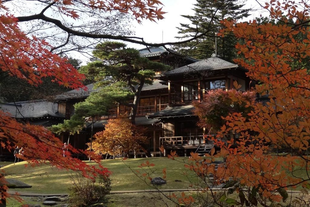 best time to travel to japan Tamozawa Imperial