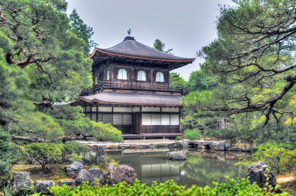 Japanese Garden Ginkakuji