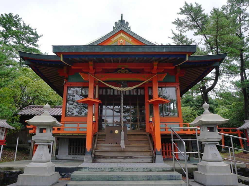 Sakurajima Tsukiyomi Shrine