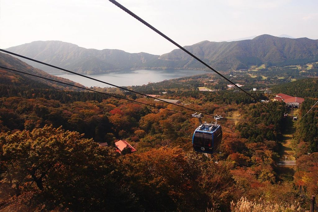 best time to travel to japan Cable Car