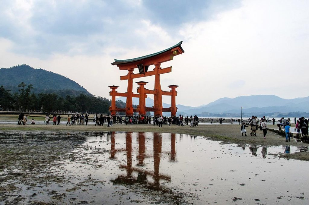 Miyajima Island O-Torii Gate
