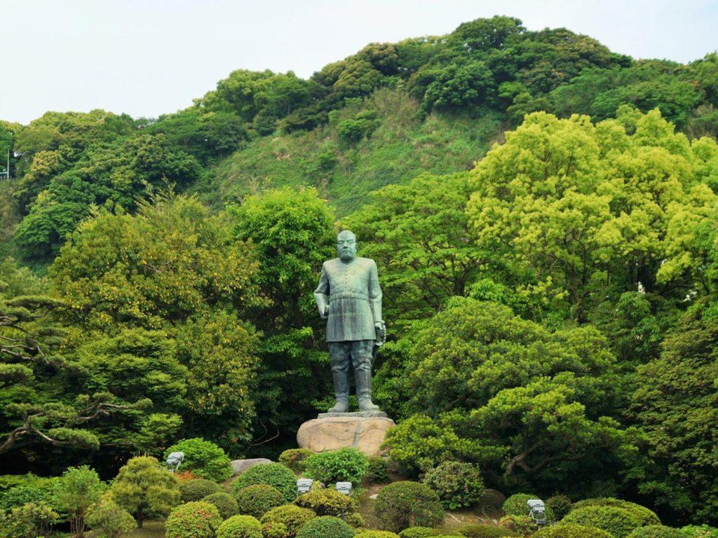 Kagoshima Japan Saigo Takamori