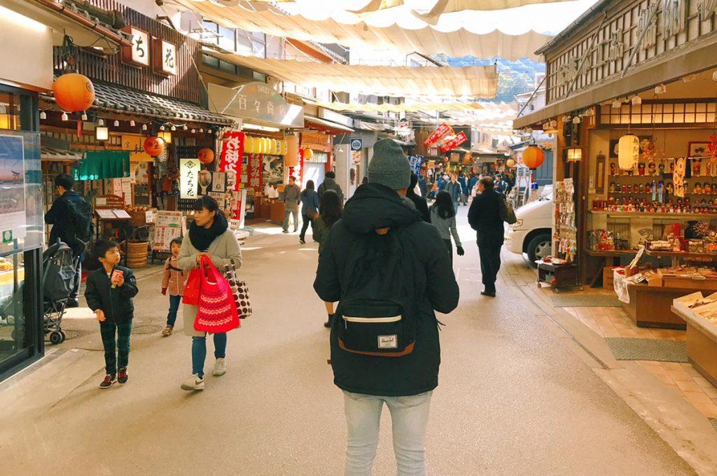 Miyajima Island Omotesando Street