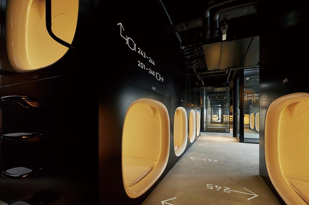 Things to do in Tokyo Capsule Hotel
