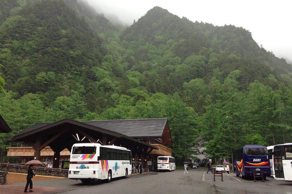 Kamikochi Bus Terminal